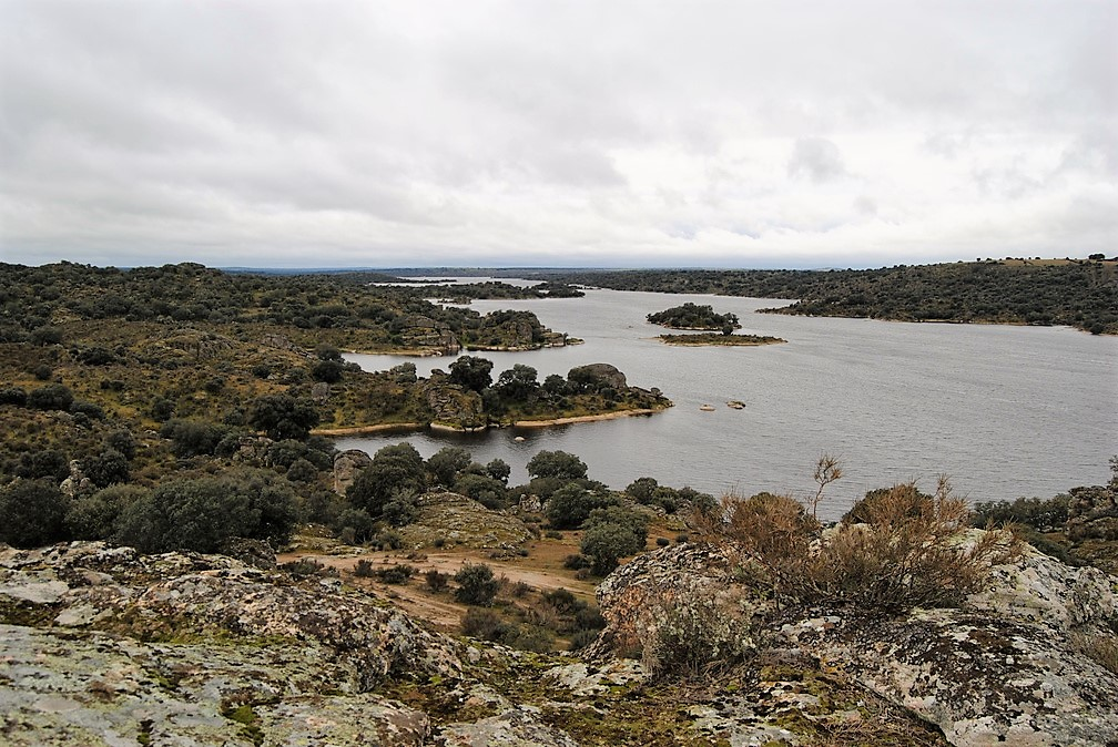 Embalse de Almendra en Carbellino